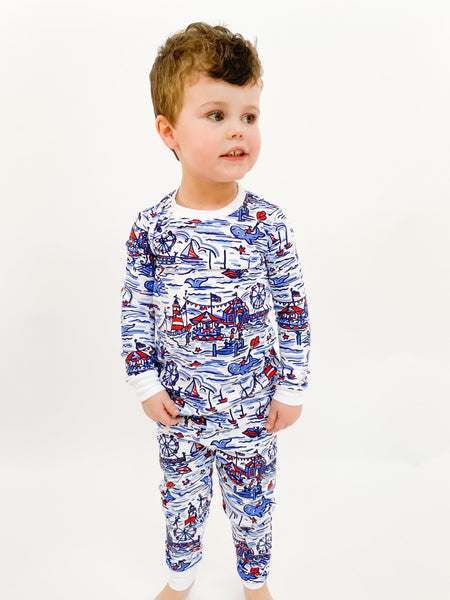 Seaside Fair Two Piece Pajama