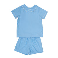 Tyler Blue Pocket Short Set (4, 5)