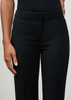 Carriage House Lafayette 148 Crepe Barrow Straight Leg Pant in Black.