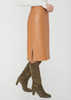 Carriage House Brochu Walker The River Pencil Skirt in Amber