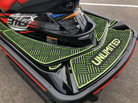 Traction Mat ULTRA CHECKER BLACK 【Kawasaki ULTRA310/300/260/250LX】