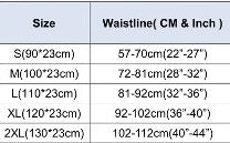 Waist Trainer Belt Sizes