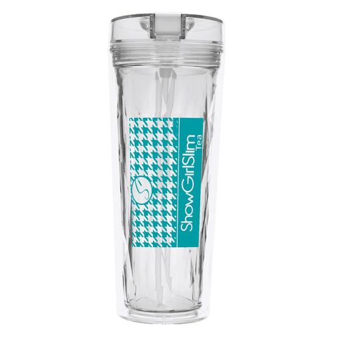 Tea Tumbler Hot & Cold Flip-N-Sip