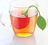 Silicone Strawberry Tea Strainer Infuser