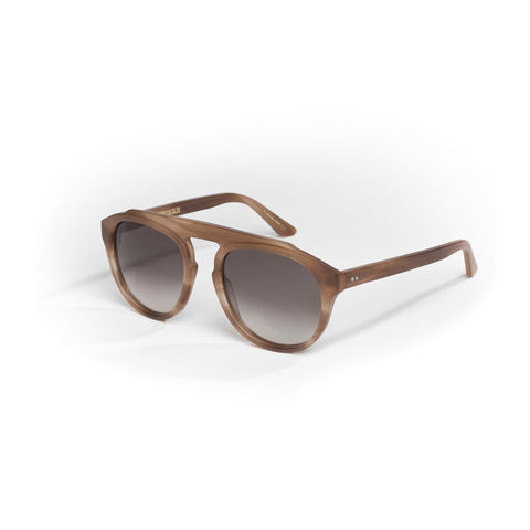 "Sonnenbrille in matt olive amber ""Grand Tour"""