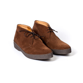 "Brown high top boot ""Steve McQueen"""