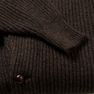 Knitted waistcoat made of Scottish cashmere