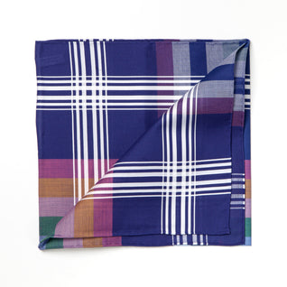"Colorful patterned cotton handkerchief ""Madras"""