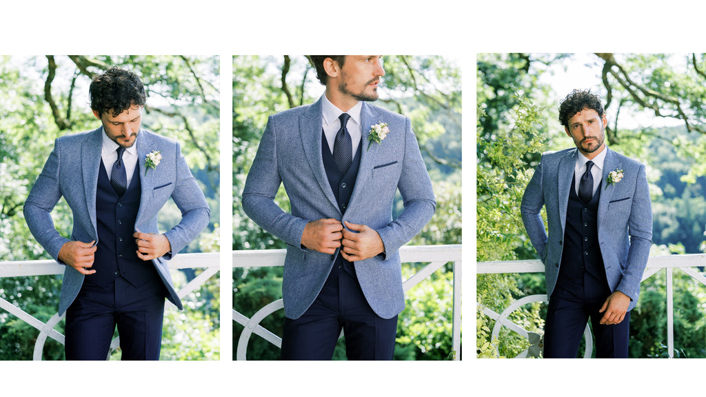 Grooms Suits at Patrick Bourke Menswear