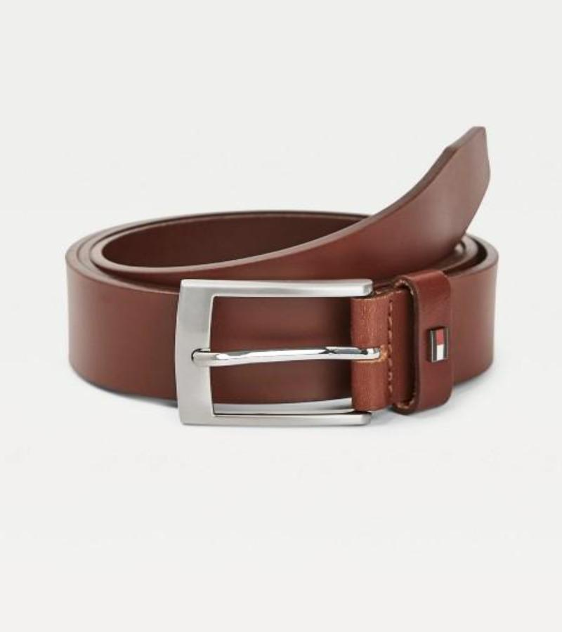 Tommy Hilfiger New Denton Brown Belt 4.0