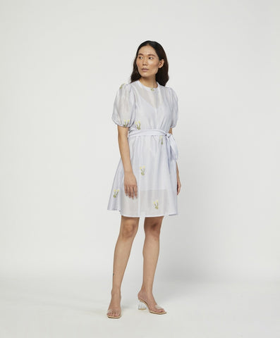 EMBROIDERED CLOUD DRESS