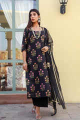 Mehnaaz Black Suit Set