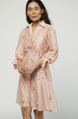 ROSA EMBROIDERED DRESS