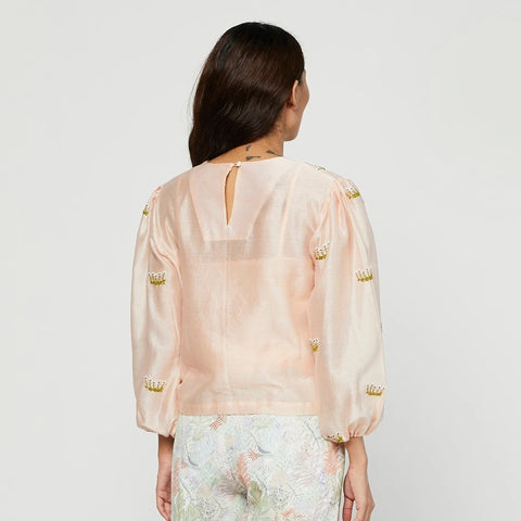 SUNKISS EMBROIDERED BLOUSE