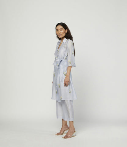 CIEL EMBROIDERED TUNIC SET