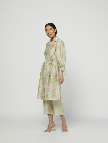 TERRA MOSS LACE TUNIC SET