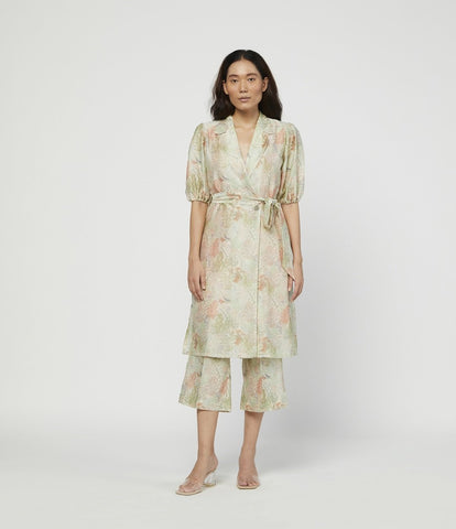 TERRA SILK TUNIC SET