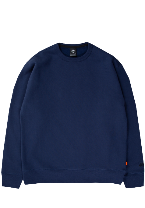 Nike SB Orange Label Collection ISO Crew Navy