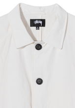 Load image into Gallery viewer, Stussy Boxy Mac Coat White