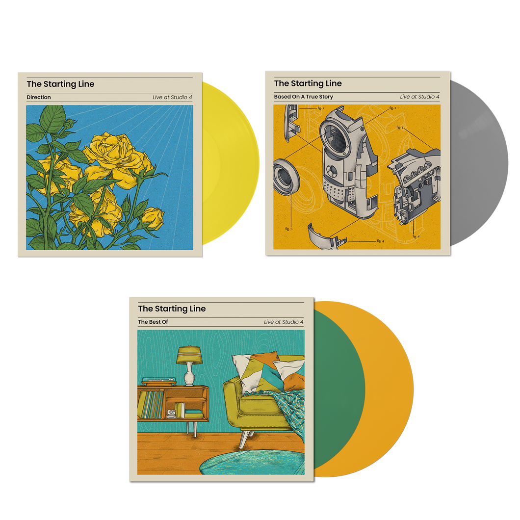 Live At Studio 4 Vinyl Bundle