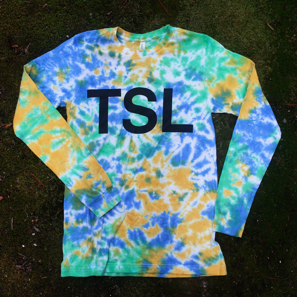 Logo Tie Dye Long Sleeve