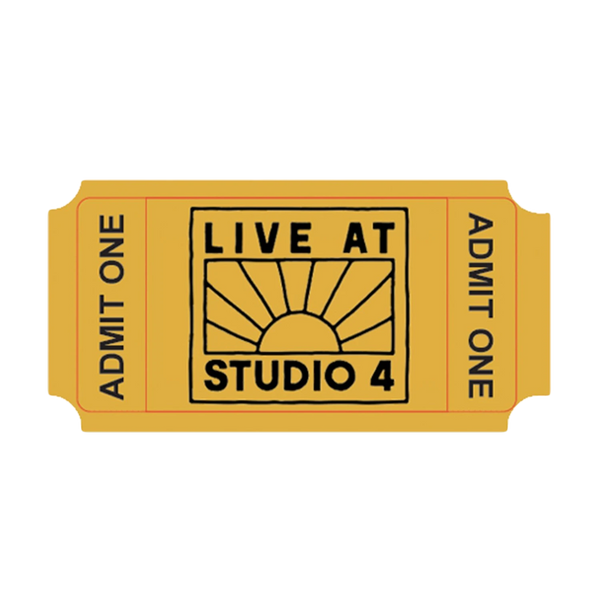 Live At Studio 4 10.10.20 Ticket