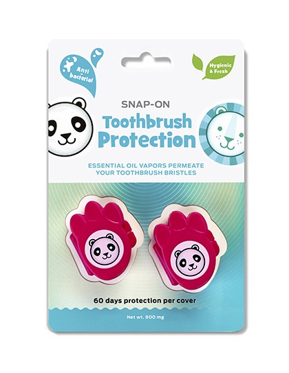 Kids Snap-On Toothbrush Protection