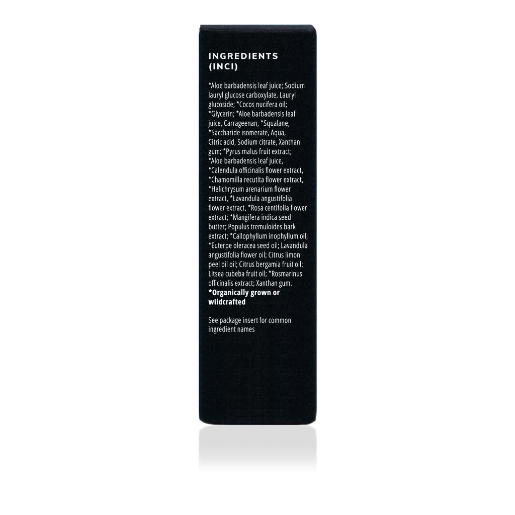Phytonutrient Cleanser – Activated Facial Cream Cleanser