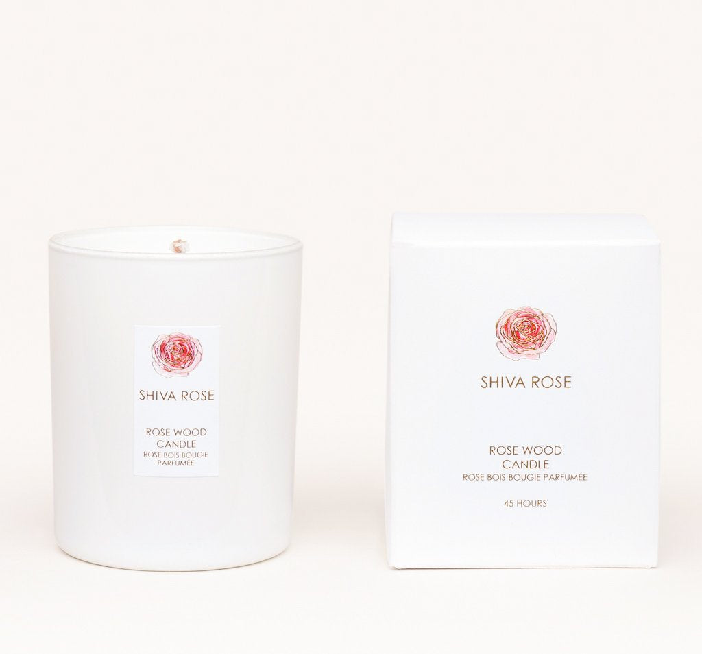 Rosewood Vanilla Candle