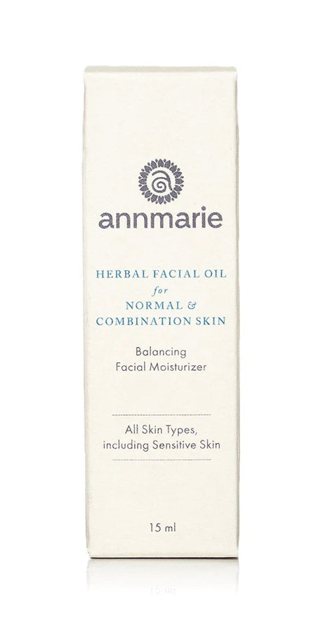 Annmarie Skin Care Herbal Facial Oil for Normal & Combination Skin
