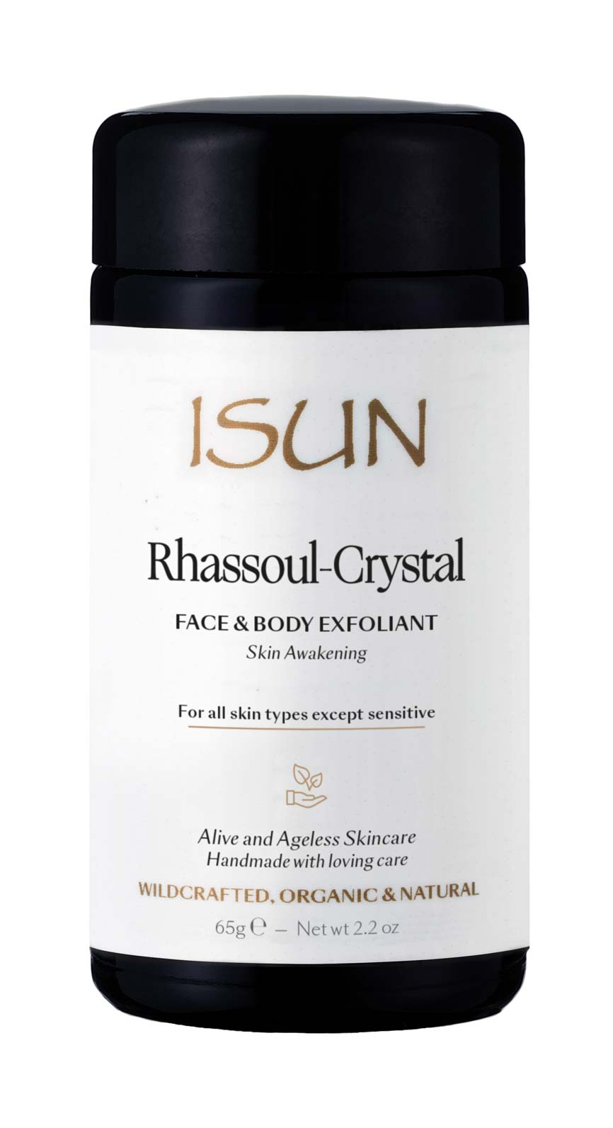 Rhassoul-Crystal Face & Body Exfoliant