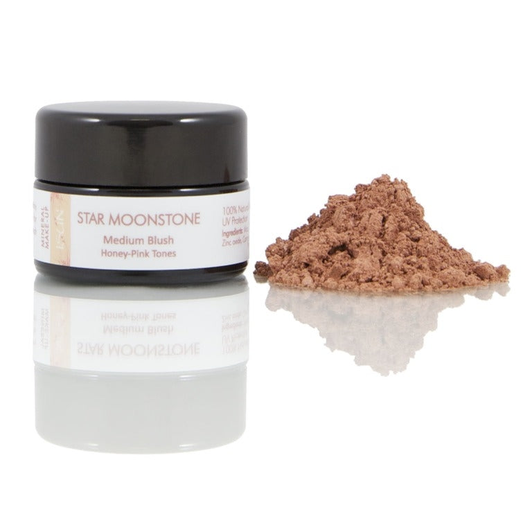 ISUN Mineral Blush - Star Moonstone - A medium colored blush with Honey-Pink tones.