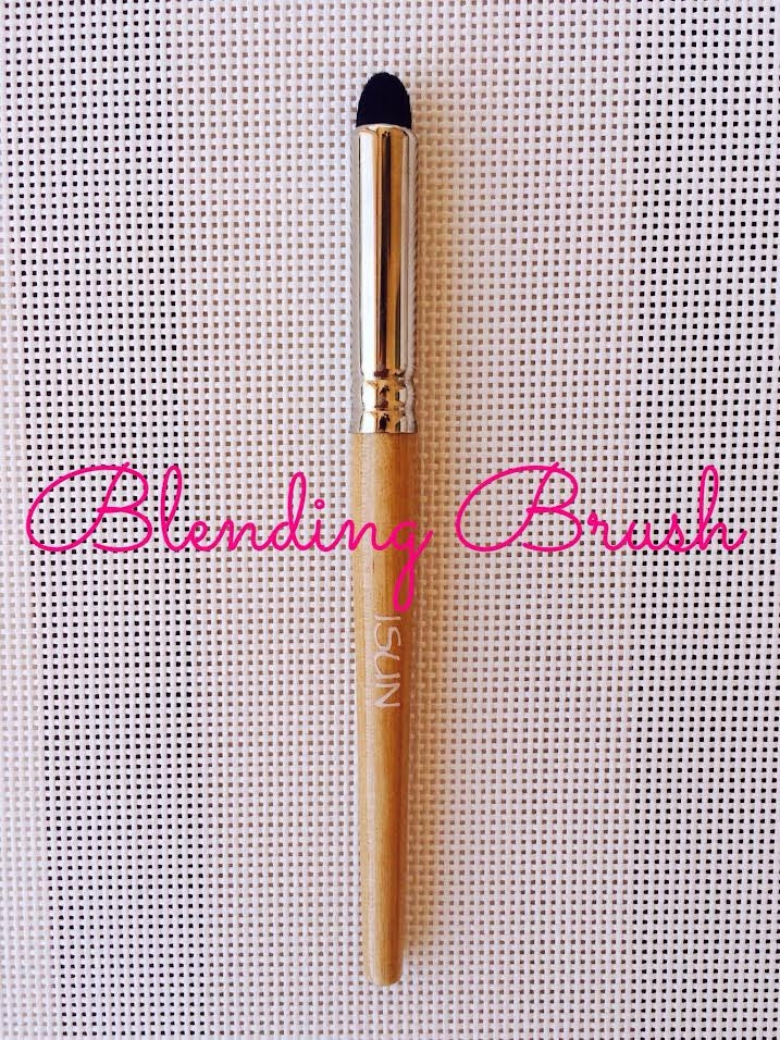 Blending Brush - Use to create soft edges of your eye shadow or liner.