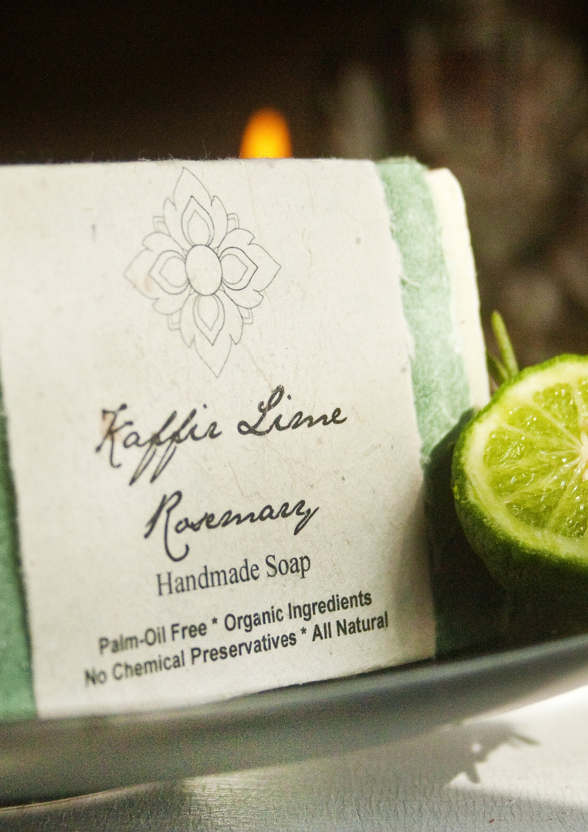 Thai Lime Rosemary Organic Soap