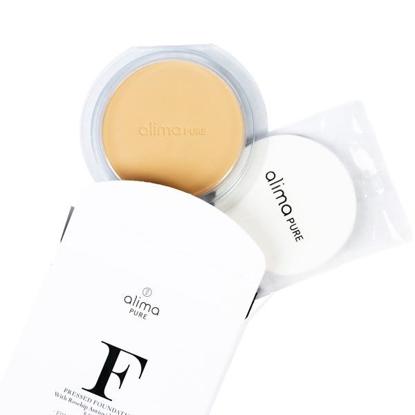Pressed Foundation with Rosehip Antioxidant Complex (Refill)