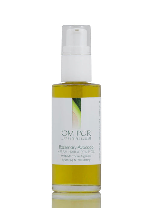 Rosemary-Avocado Herbal Hair & Scalp Oil