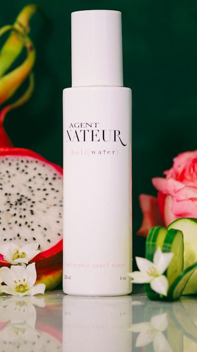 h o l i (Water) Pearl and Rose Hyaluronic Toner
