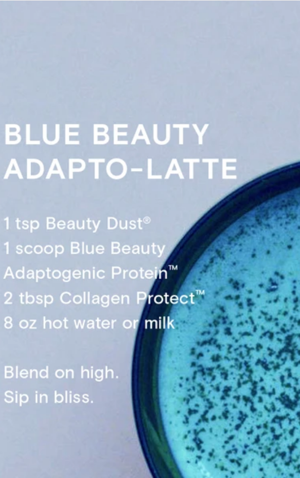 Blue Beauty Adaptogenic Protein