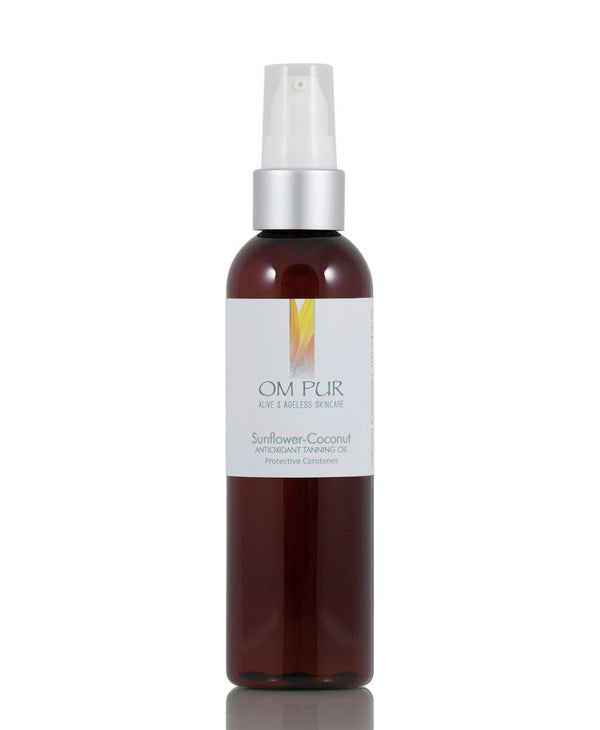 Sunflower-Coconut Antioxidant Tanning Oil