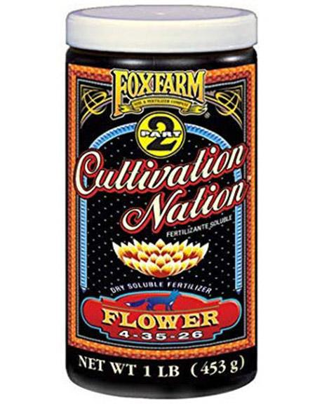 Foxfarm Cultivation Nation Flower - 1 LB