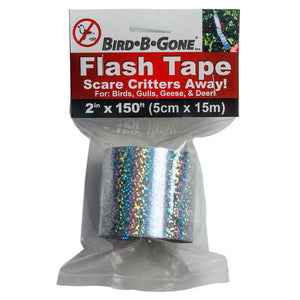 "Bird B Gone Holographic Flash Tape 2""x150'"
