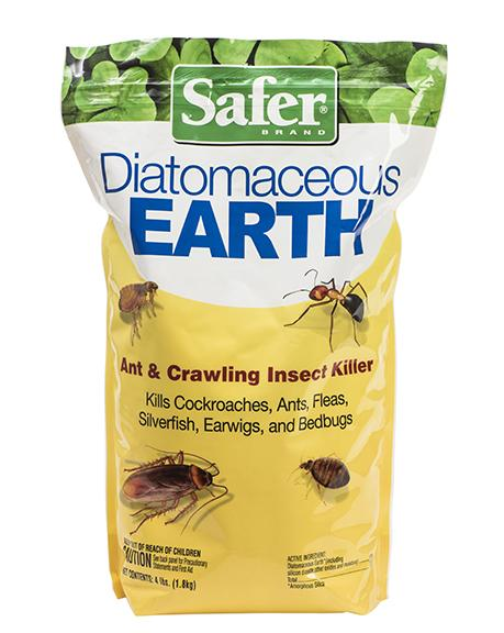 Safer Diatomaceous Earth Insect Killer 4 Lbs