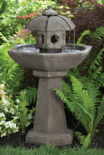 "Load image into Gallery viewer, 42"" Spring Rain Pagoda Fountain"