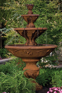 "78"" Four Tier Harvest Fountain"