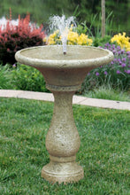 "Load image into Gallery viewer, 30"" Chelsea Fleur De Lis Round Fountain"