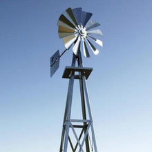 Load image into Gallery viewer, Windmill - Galvanized Backyard 8'3""