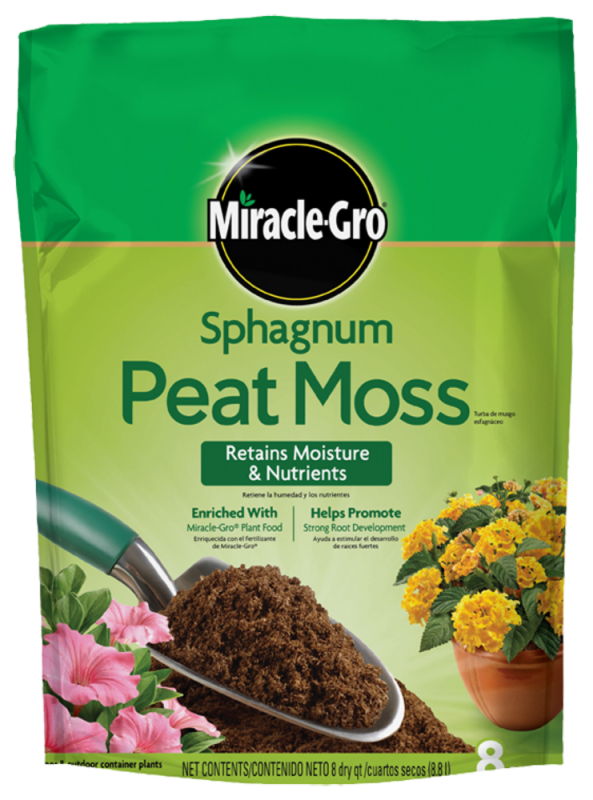 Miracle-Gro Sphagnum Peat Moss