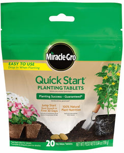 Miracle-Gro Quick Start Planting Tablets
