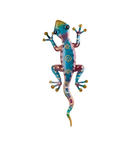 "Regal Art & Gift Gecko Decor 11"" – Rainbow Purple"