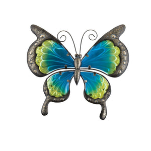 "Regal Art & Gift Vintage Butterfly Wall Decor 11"" - Blue"